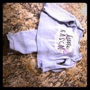Little Boy Long Sleeve Shirt and jogging pants